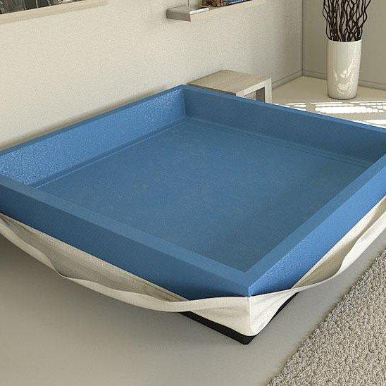 Hardside- oder Softside Wasserbett kaufen?